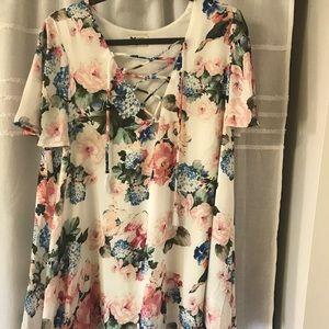 Rancho Vista Tunic Dress ~ Sweet Floral